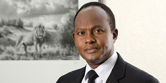 Dr Corneille Karekezi, Group Managing Director and CEO of Africa Re