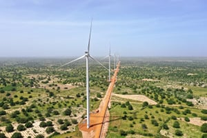 A wind farm in Africa. Siemens Gamesa has signed a deal to build a wind farm in Ethiopia.