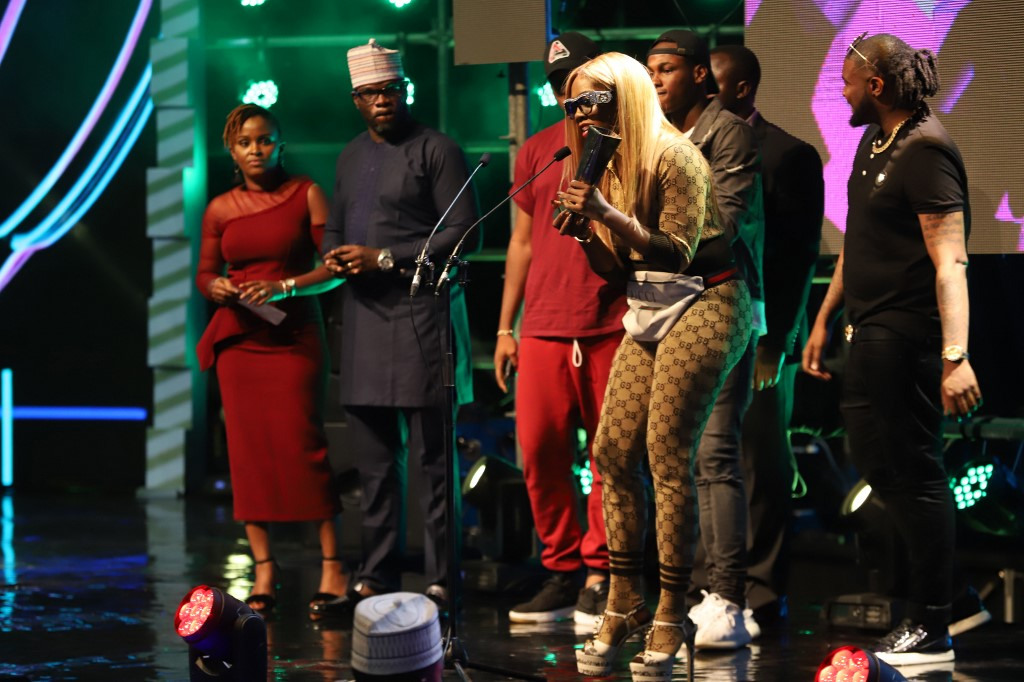 Universal Music Group artist Tiwa Savage receives African's Female Artiste of the Year Award for 2017.