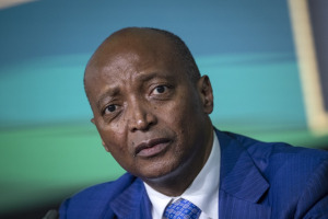 South African businessman Patrice Tlhopane Motsepe.
