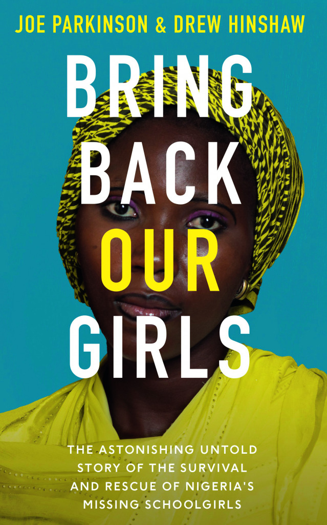 """The cover of the book """"Bring Back Our Girls""""."""