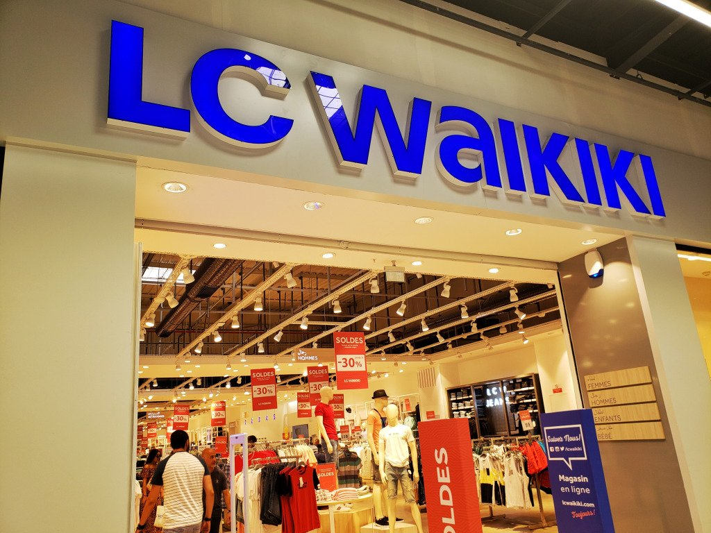 A branch of LC Waikiki in Morocco.